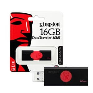 Atmiņa 16Gb USB3.1/3.0/2.0 DT106 Kingston