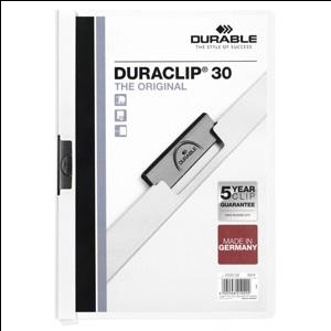 Mape Duraclip Original 30 DURABLE,  balta
