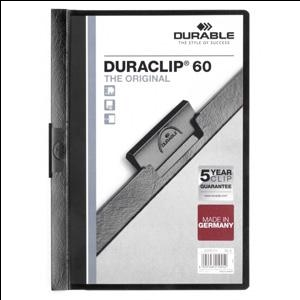 Mape Duraclip Original 60 DURABLE,  melna