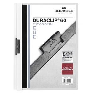 Mape Duraclip Original 60 DURABLE,  balta